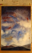 SKY | 2008 | OIL ON CANVAS|150X85cm