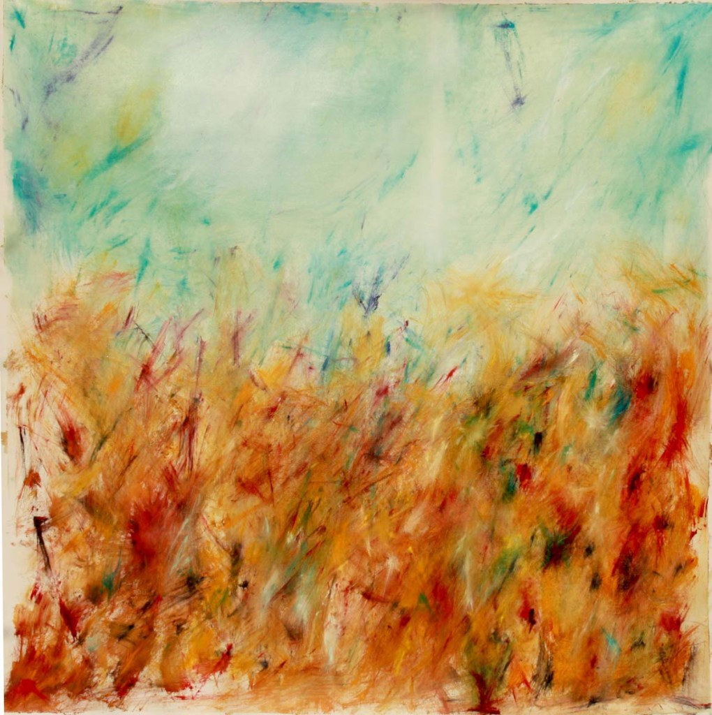 4 SEASONS | AUTUMN | 2010 | OIL ON CANVAS | 120X120cm