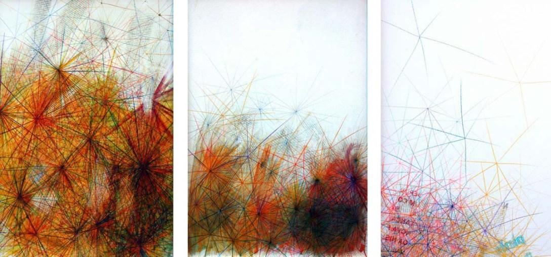 S/T | 2012 | MIXED TECHNIQUE ON WOOD | 60X180cm