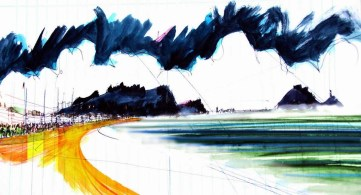 ZARAUTZ | 2012 | MIXED TECHNIQUE ON PAPER | 21X29 cm