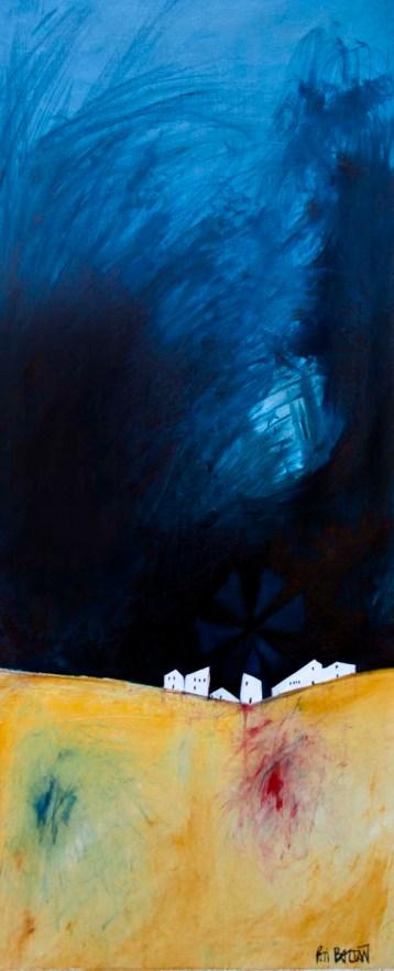 MALLORCA | 2015 | OIL ON CANVAS | 150X50cm