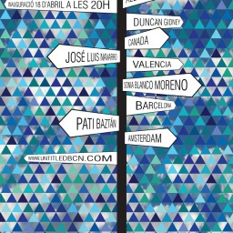 """exposición """"A MAGRITTE"""" en galería UNTITLED BCN"""