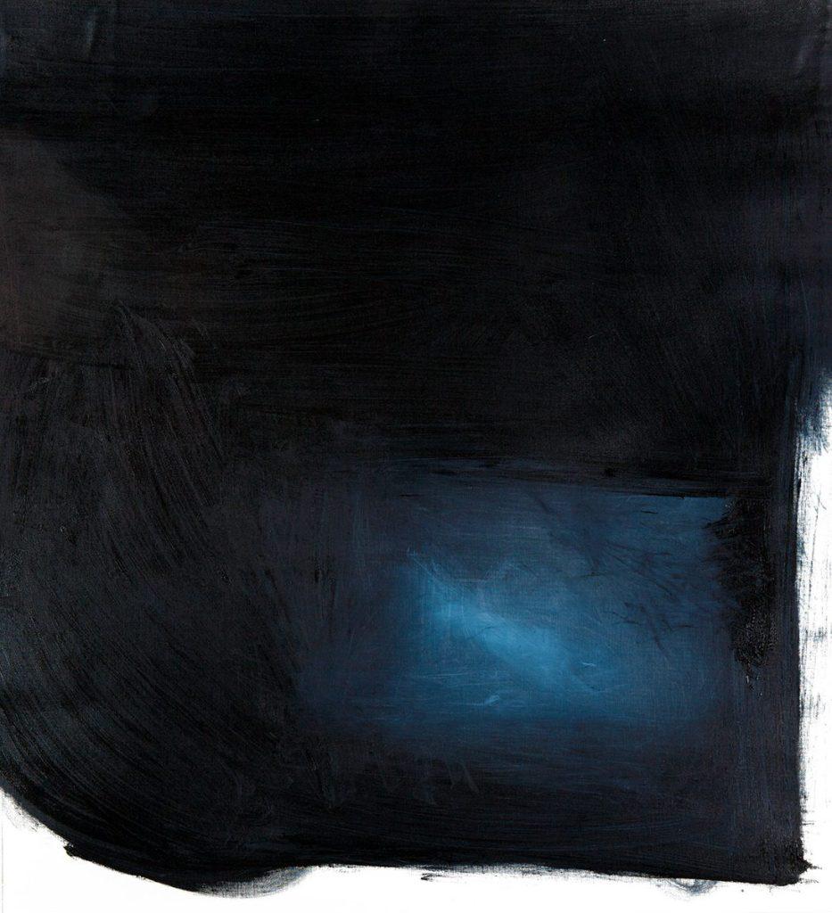 BLACK STUDIES 12   2016   OIL ON CANVAS   100X100 cm